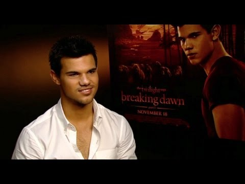 Taylor Lautner The Twilight Saga: Breaking Dawn - Part 1 interview