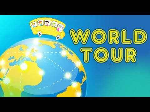 Our Earth | World Tour With Chidren | Explore The Planet  Earth