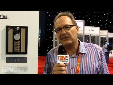 CEDIA 2013: Amina Shows us the IQ Series of Behind Wall Speakers