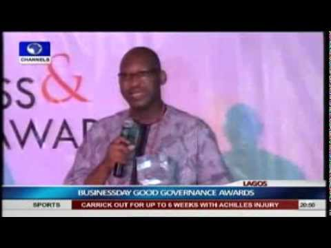 Patrick Obahiagbon Speaks On Governor Oshiomole's Absence At Good Governance Award video