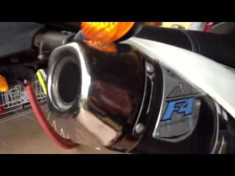 Kawasaki Klx 150s Ahrs F4 sound