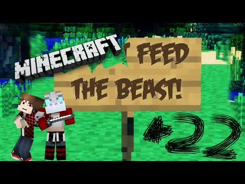Feed The Beast - Episode 22 W mat Hey Confused Golem! (minecraft Modpack) video