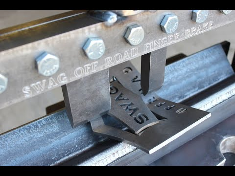 SWAG Off Road Press Brake Finger Brake Kit Demo Video