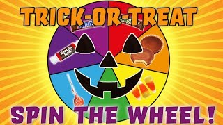 LOL Dolls Spin the Wheel Trick or Treat Game! Starring Unicorn, Thrilla, Fancy and the Great Baby!