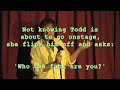 Todd glass goes off on a heckler - youtube
