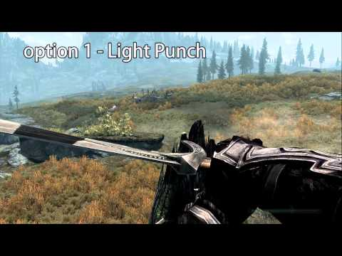 Skyrim Mod: One Handed Punch