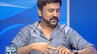 Ramesh Aravind with Suvarna girls - Seg _ 1 - 31 Mar 2013 - Suvarna News