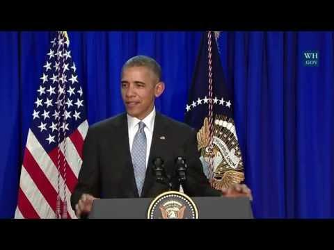 President Obama Holds a Press Availability