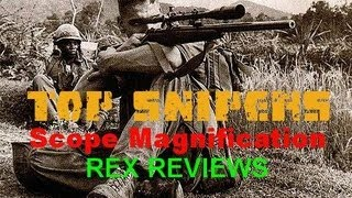 SNIPER 101 Part 17 - TOP Sniper Scopes in History - Overview