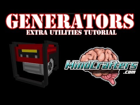 Extra Utilities Tutorial - Generator's