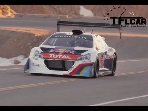 Sebastien Loeb+ 900 hp+Pikes Peak= Awesome!