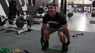 4 Killer Leg Exercises with Strength Bands