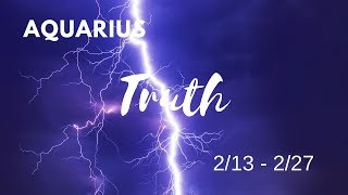 ARIES: The Harsh Truth  2/13 - 2/27