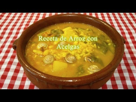 Receta simple de arroz con acelgas