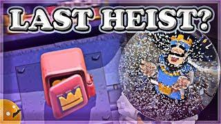 Rare Snow Globe Opening & Last Heist Mode?    Clash Royale 🍊