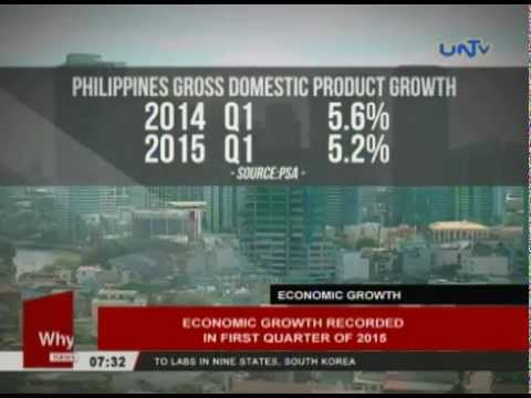Economic growth record in first quarter of 2015
