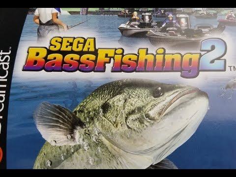Classic Game Room - SEGA BASS FISHING 2 review for Sega Dreamcast