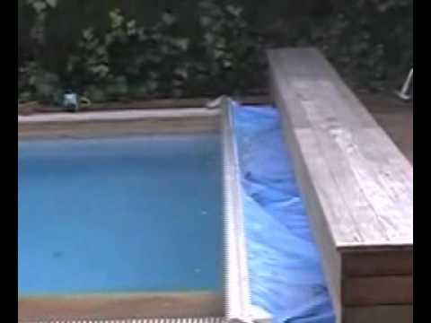 Cubiertas cobertores para piscinas automatizados youtube for Cobertores para piletas