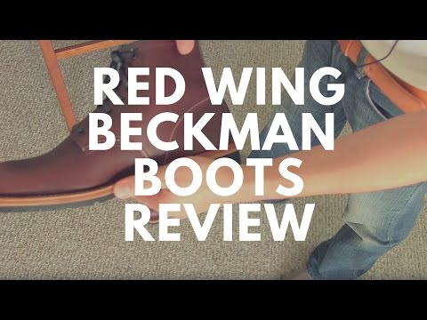 Reviewed- Red Wing Beckman 9016 Boots