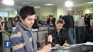 Клип David Archuleta - The First Noel (live)