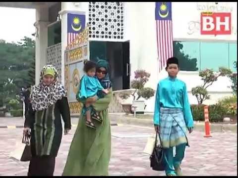 Najib temu keluarga mangsa MH17, MH370 sempena Aidilfitri