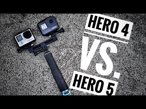 GoPro Hero 4 vs. GoPro Hero 5   Review & Tips