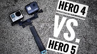 GoPro Hero 4 vs. GoPro Hero 5 | Review & Tips