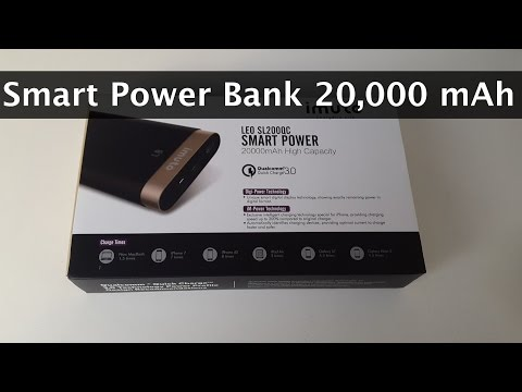 Best Power Bank 20000 mAh Portable Charger by iMuto
