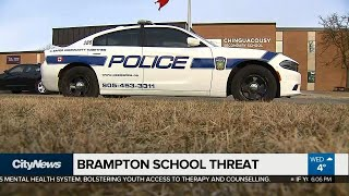 Brampton high school threat 'not credible:' Police
