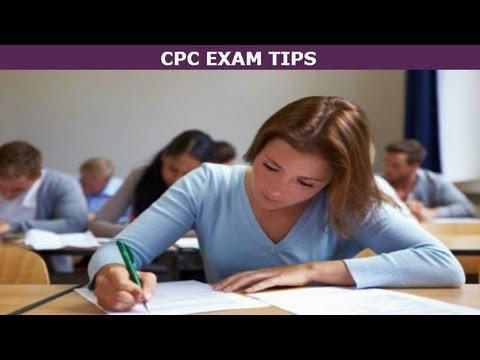 CPC Exam Tips