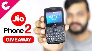 JioPhone 2 Unboxing & Hands on Review - GIVEAWAY!!!