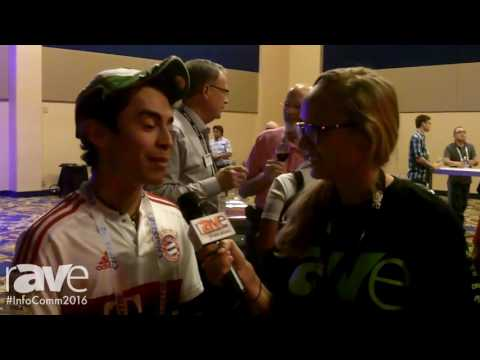 InfoComm 2016: Amanda Sisk Interviews Jose With GSP Solutions at Opening Reception
