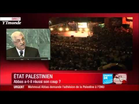 Mahmoud Abbas (Palestine) à l'ONU pour la reconnaissance de l'Etat Palestinien - onu -