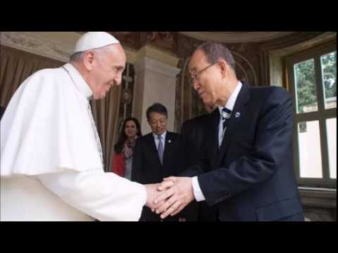 Pope meets UN chief ahead of key environmental statement