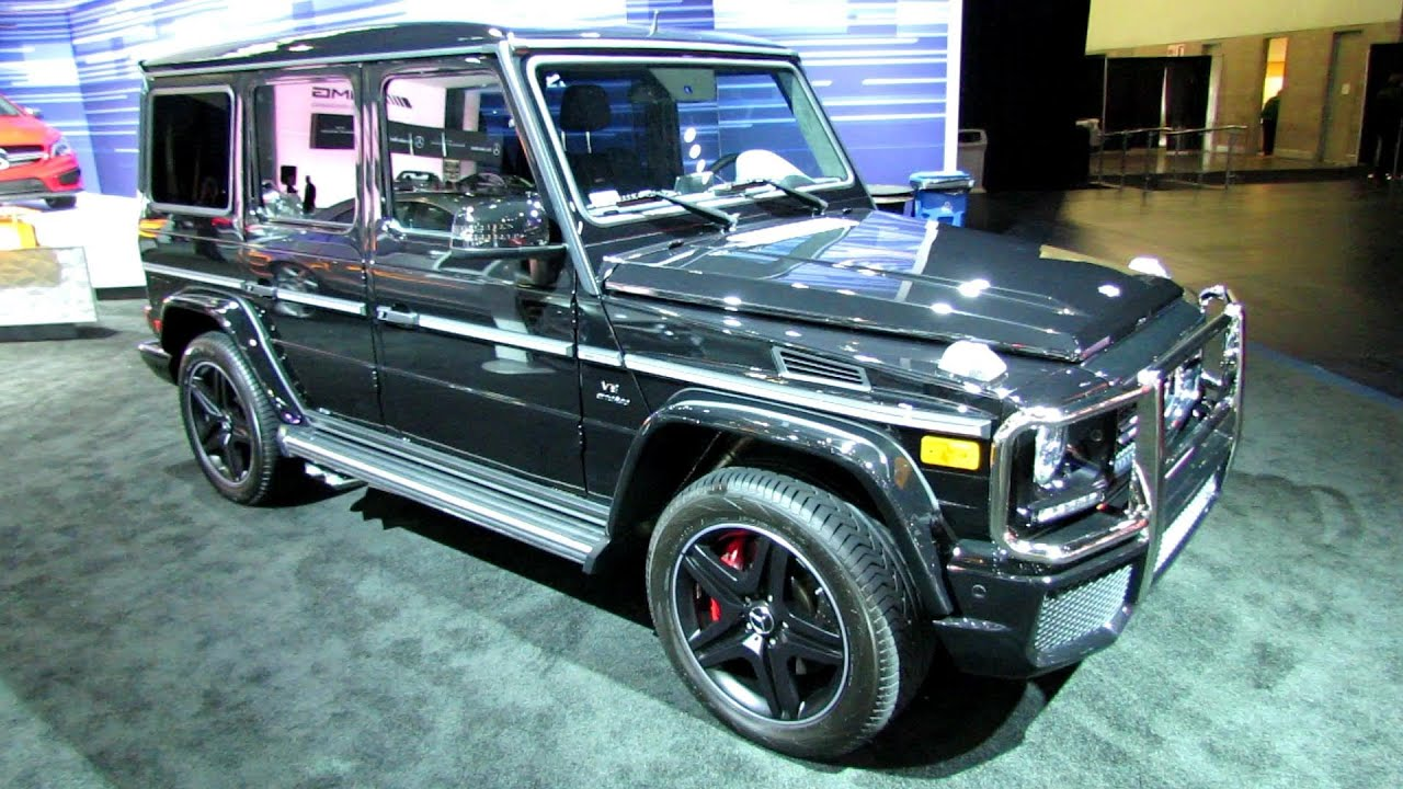 2014 mercedes benz g class g63 amg exterior and interior walkaround. Cars Review. Best American Auto & Cars Review