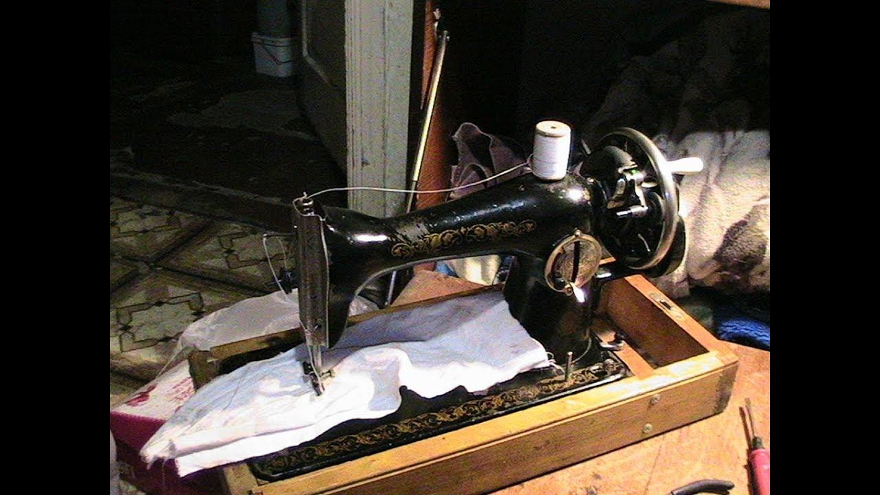 Ремонт швейных машин своими руками ручная 2