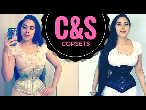 RAINBOW HOLO CORSET! TWO C&S Constructions Corsets (Review / Study)   Lucy's Corsetry