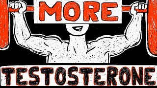 How to Increase your Testosterone NATURALLY - 3 EASY Habits
