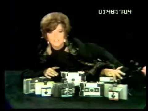 Brenda Vaccaro - Polaroid commercial c. 1967