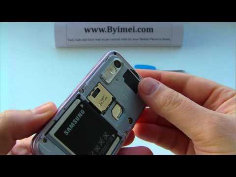 Samsung GT-S5230 Star S5230 Unlock & input / enter code.AVI