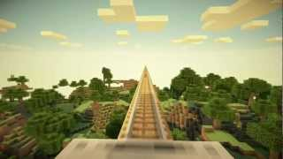 Scenic Minecart Ride (AntVenom's Peaceful Map)