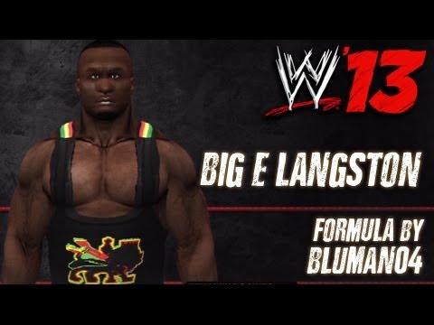WWE '13 Big E Langston CAW Formula By bluman04