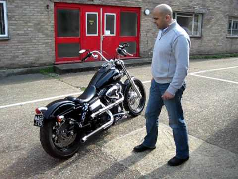 ALCHEMY BIKES' CUSTOMISED HARLEY DAVIDSON DYNA STREET BOB Video