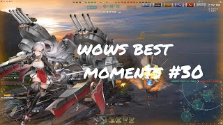 World of Warships Best Moments #30 BOURGOGNE Edition