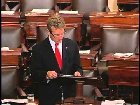 Sen. Rand Paul Remarks on Expiration of PATRIOT Act - May 31, 2015