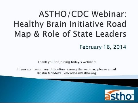 Healthy Aging: Healthy Brain Initiative Road Map and Role of State Leaders
