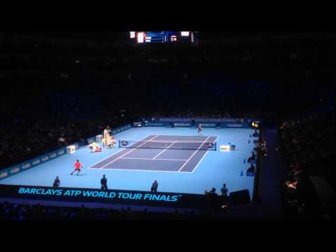 Roger Federer vs Milos Raonic - 2014 ATP World Tour Finals - 2