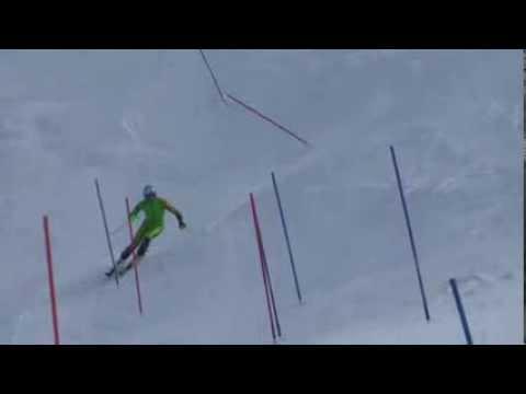 Slalom training 08.08.2013 with Ted Ligety