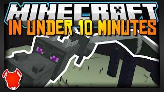 MINECRAFT IN UNDER 10 MINUTES!