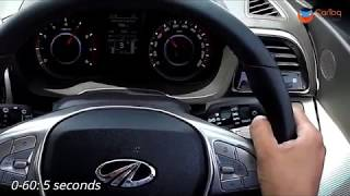 Mahindra XUV300 petrol top speed and 0-60 / 0-100 km/h acceleration